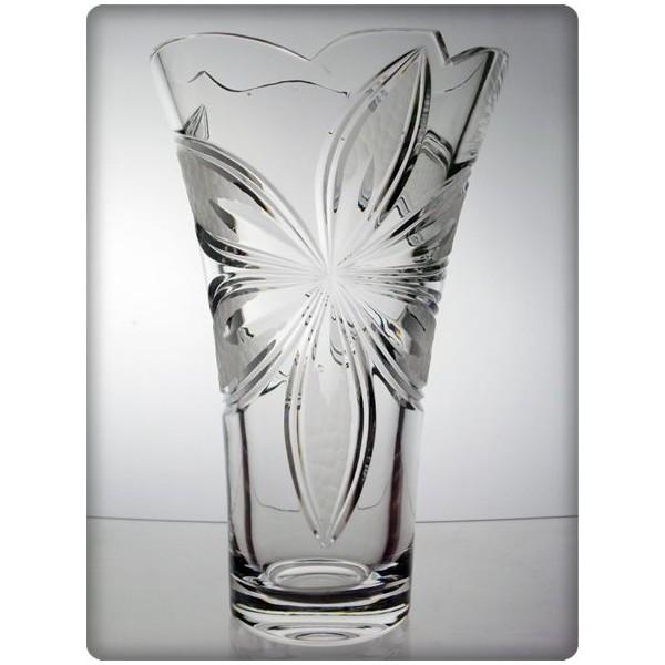 Vase en cristal 31cm d coration chicago pictures to pin on - La maison du cristal ...