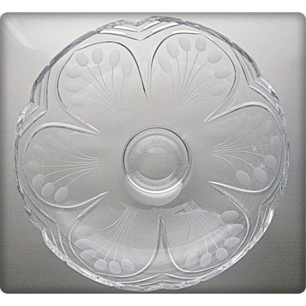 La maison du cristal coupe en cristal 35 5cm collection - La maison du cristal ...