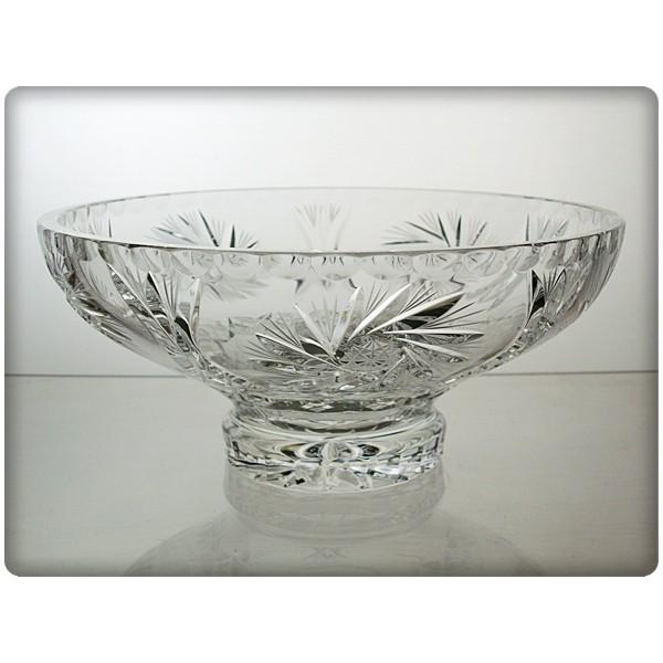 Coupe en cristal 20cm d coration dent de lion for Decoration en cristal