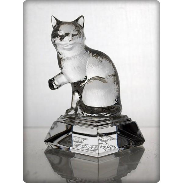 Figurine chat en cristal taille 10cm pictures - La maison du cristal ...