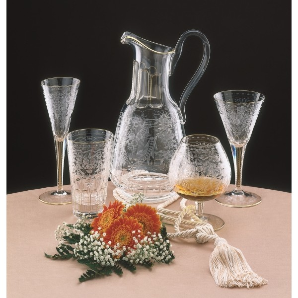 La maison du cristal verre whisky collection maharani - Maison du verre et du cristal ...