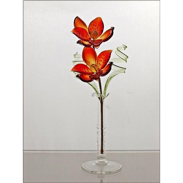 Fleur de verre id e d 39 image de fleur - La maison du cristal ...