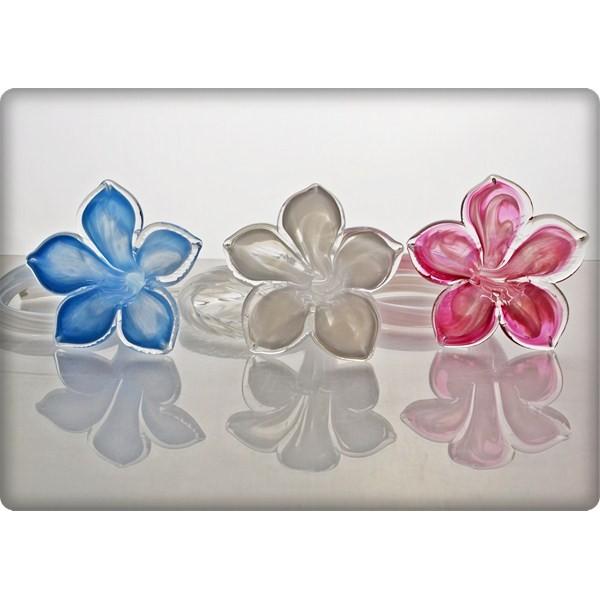La maison du cristal fleur en cristal rose - La maison du cristal ...