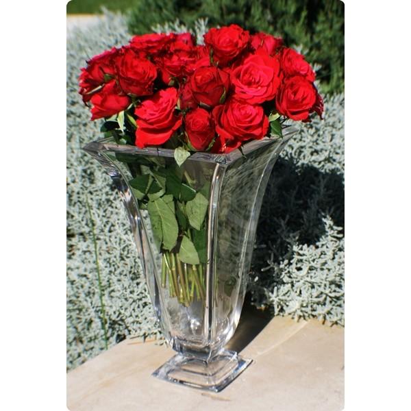vase corrida en cristal de boheme 30 cm boite cadeau vase 24 blomp ebay. Black Bedroom Furniture Sets. Home Design Ideas