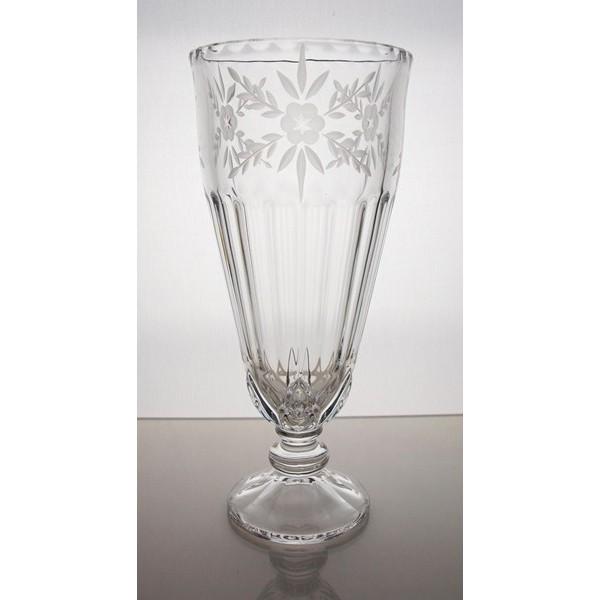 Vase en cristal 27cm decoration venezia - La maison du cristal ...