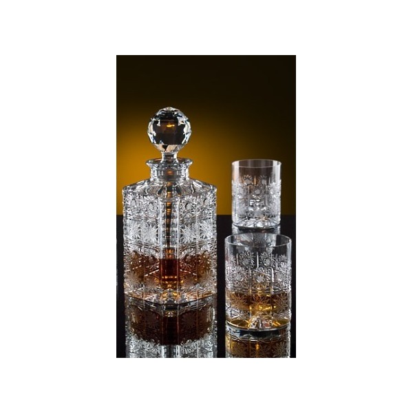 la maison du cristal carafe et 2 verres whisky. Black Bedroom Furniture Sets. Home Design Ideas