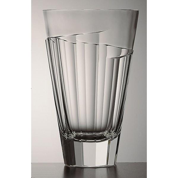 La Maison Du Cristal Vase Moser Panel 24cm