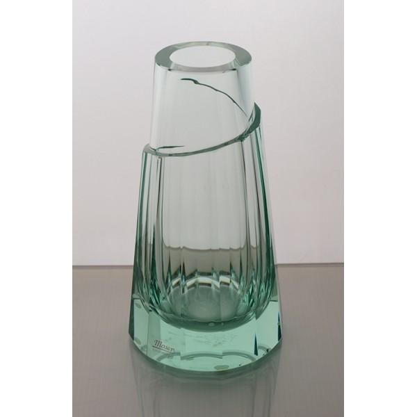 La Maison Du Cristal Vase Moser Beryl 20cm