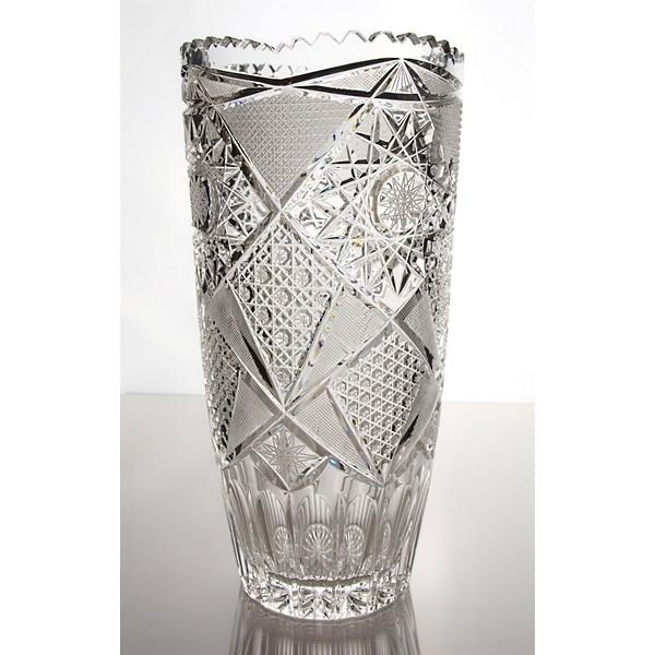 vase en cristal 31cm d coration fantasia. Black Bedroom Furniture Sets. Home Design Ideas
