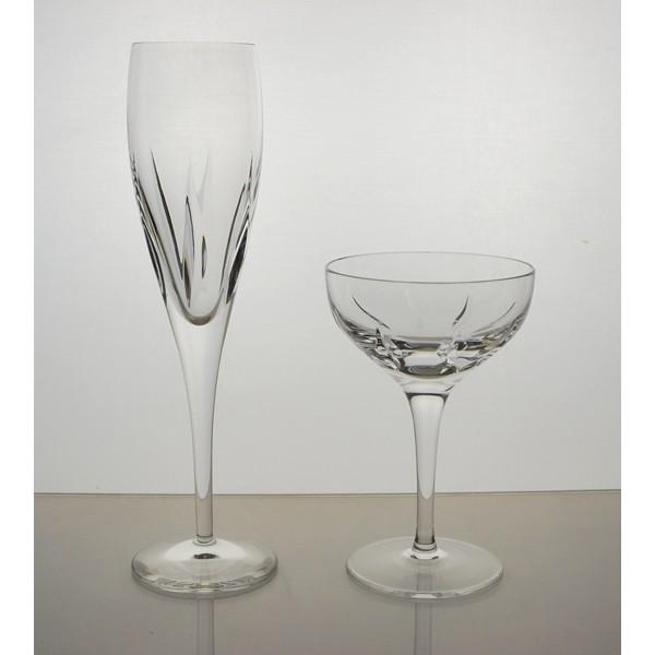 Coffret de 6 fl tes champagne collection sophia - La maison du cristal ...