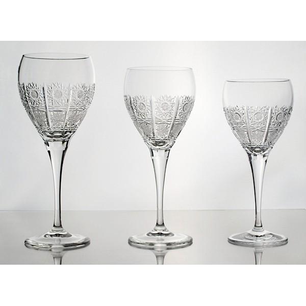 coffret de 6 verres vin blanc cristal de boh me. Black Bedroom Furniture Sets. Home Design Ideas