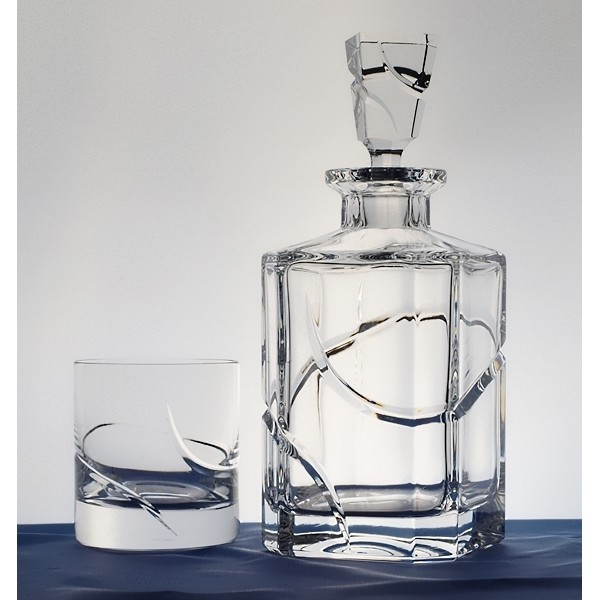 Carafe whisky collection la spirale - Carafe a whisky maison du monde ...