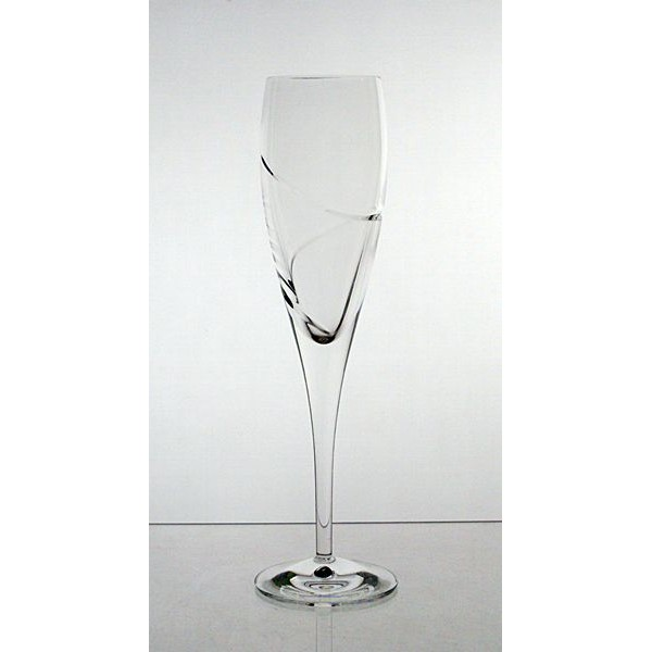 coffret de 6 verres champagne collection la spirale. Black Bedroom Furniture Sets. Home Design Ideas